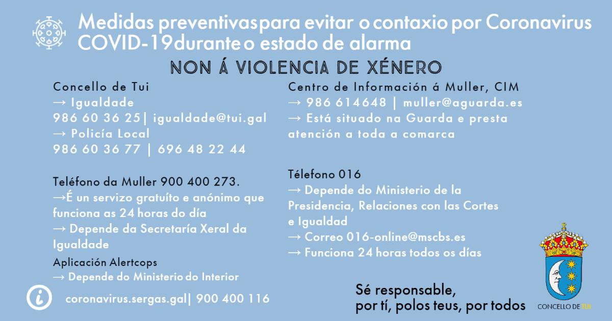 concello-de-tui-coronavirus-Violencia-de-xénero