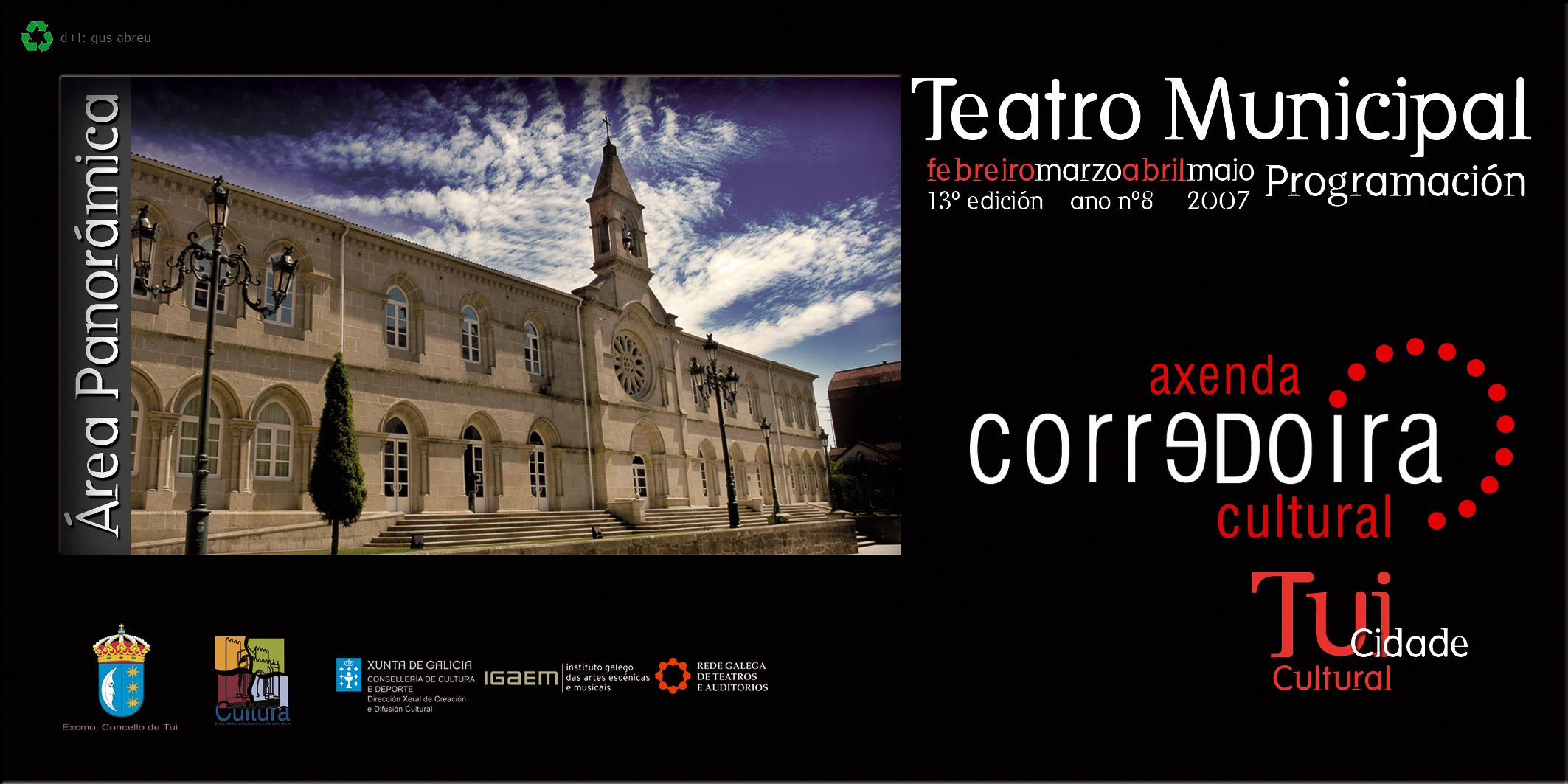 concello-de-tui-2007 1º portada teatro