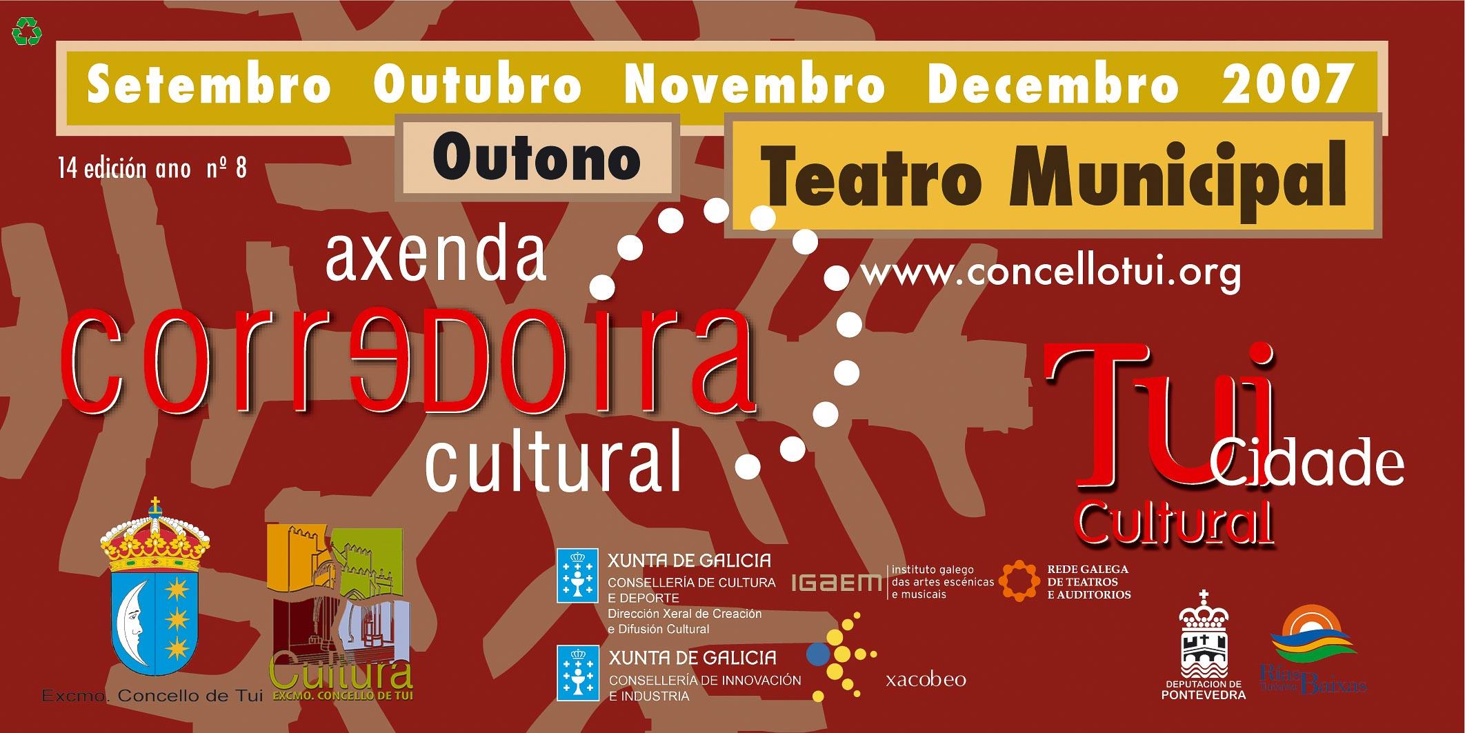 concello-de-tui-2007 2º portada teatro