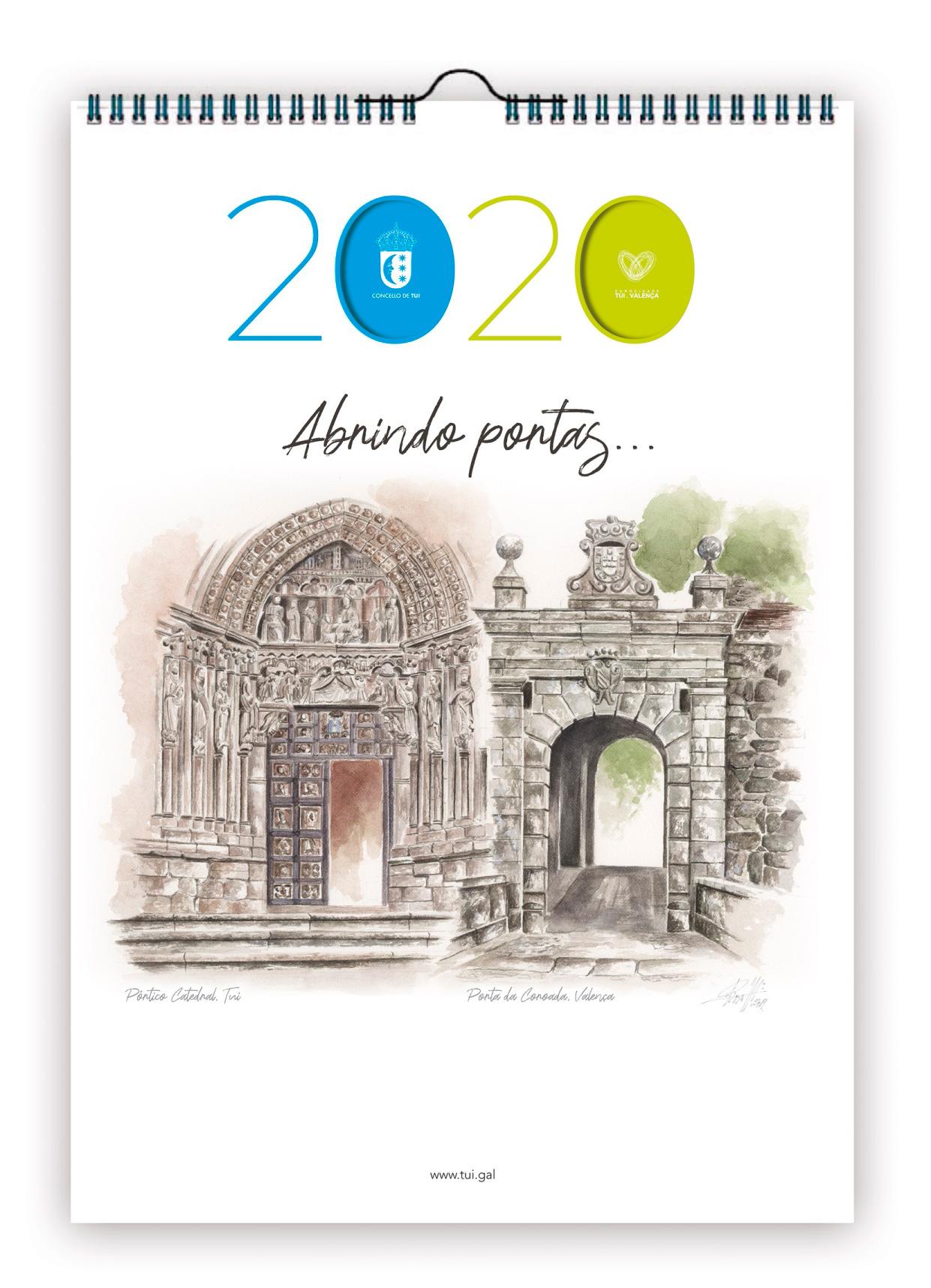 Calendario 2020 - Portada
