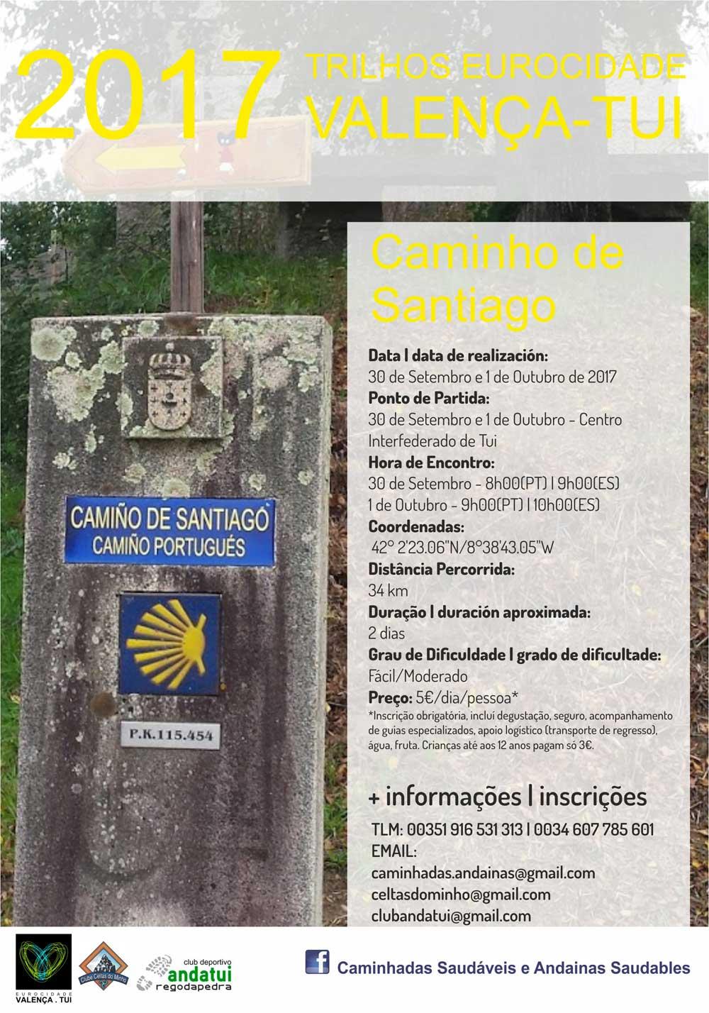 Andaina Camiño Portugués Tui