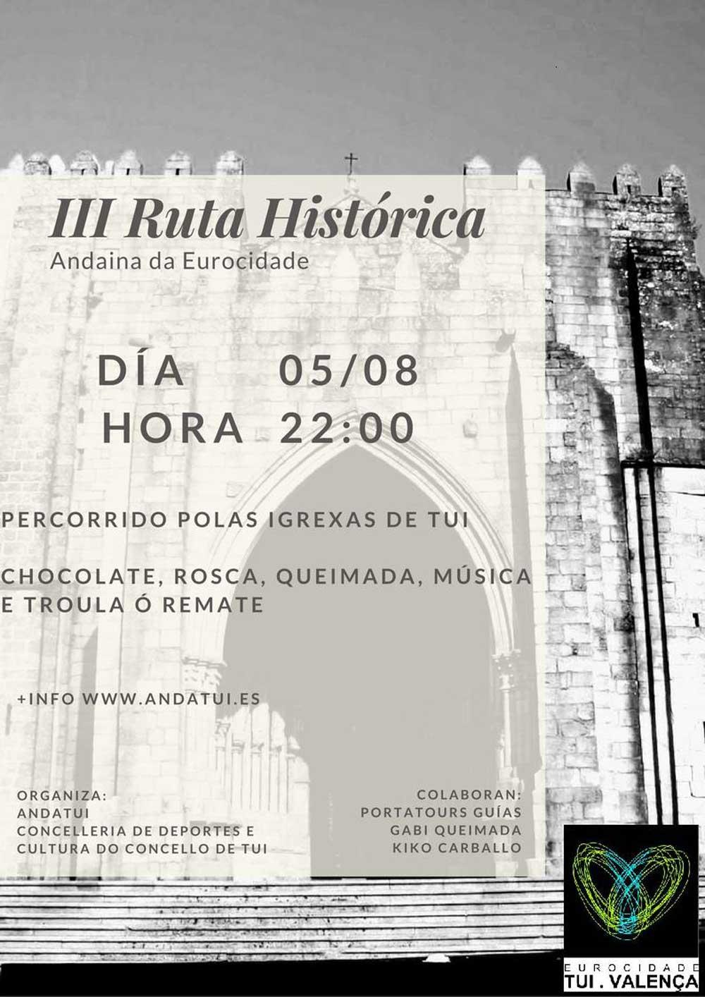 Ruta Histórica de Tui Nocturna