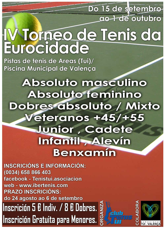 IV Torneo de Tenis Eurocidade