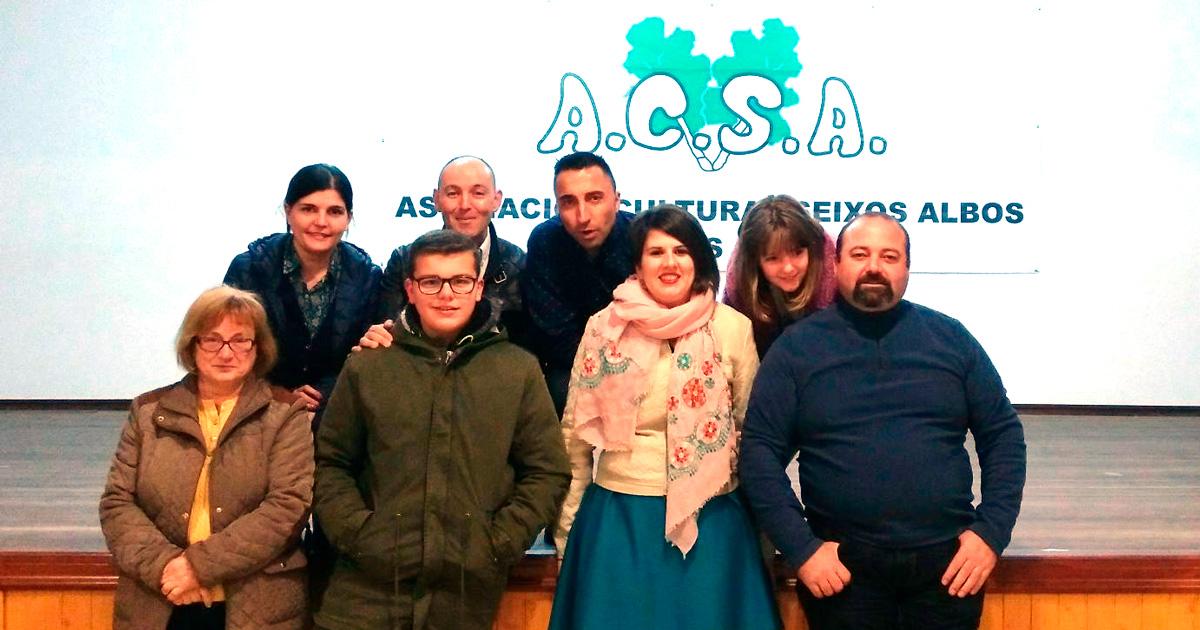 Grupo de teatro Mesturanzas da Asociación Cultural Seixos Albos de Areas