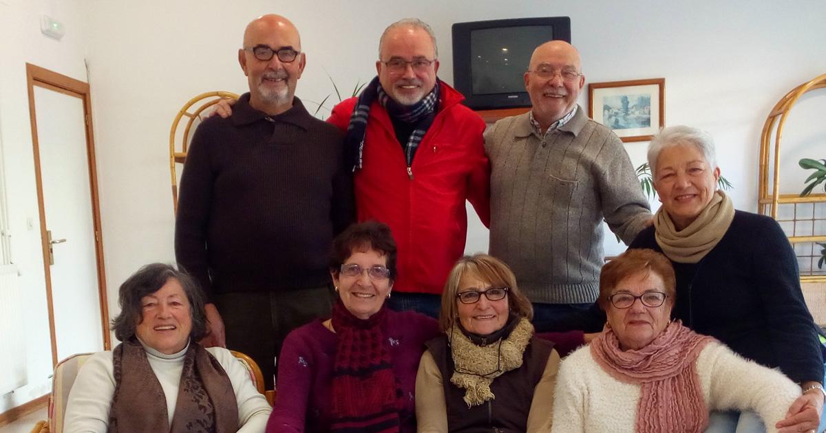 Grupo de teatro Atalaia do voluntariado do Centro Sociocomunitario de Tui
