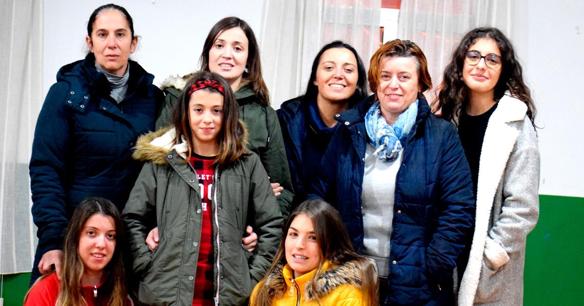 Grupo de teatro da Asociación Cultural Santiago de Malvas