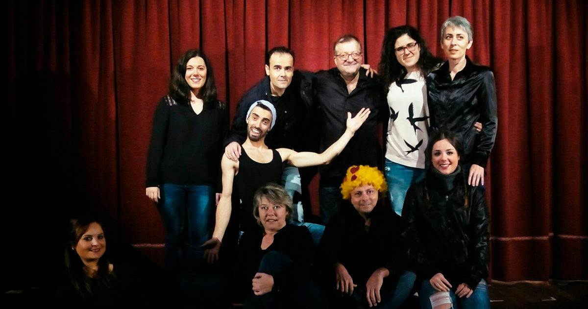 Grupo de teatro Chirlomirlo da Asociación Cultural Xuntanza de Randufe