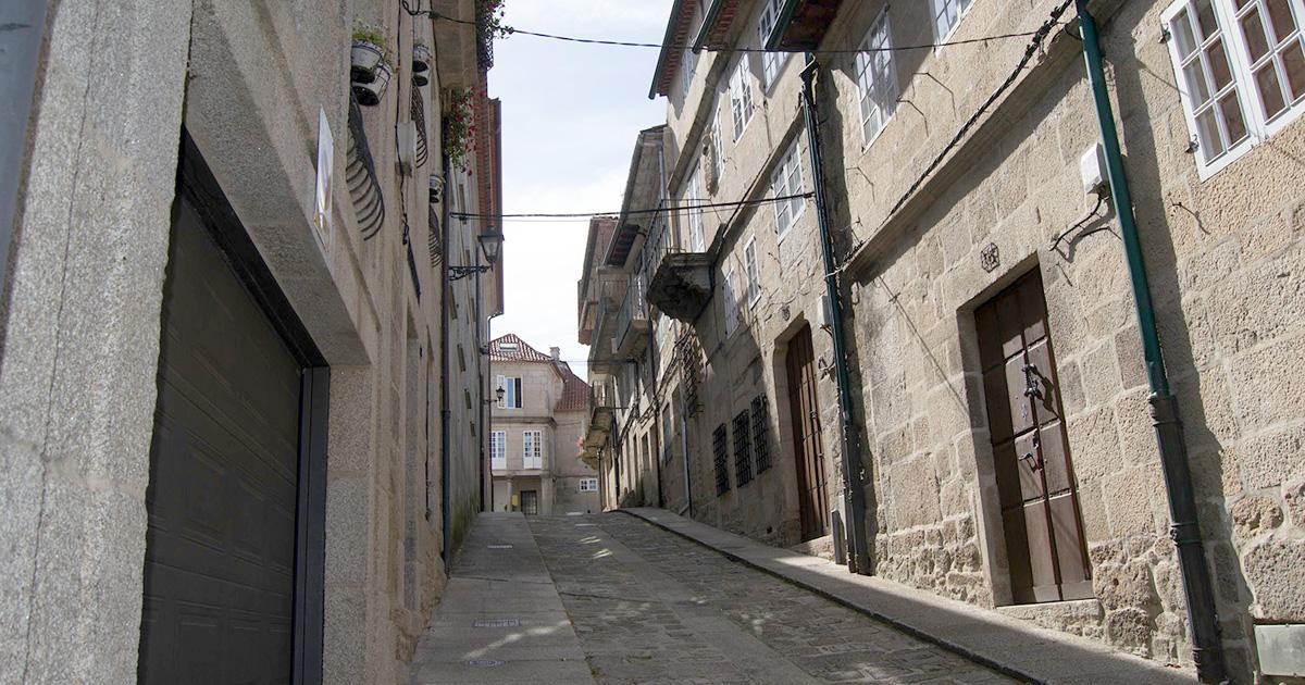 Rúa do conxunto histórico