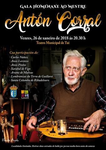 Gala Homenaxe a Antón Corral