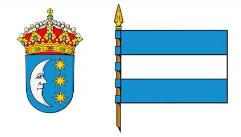 Escudo e bandeira de Tui