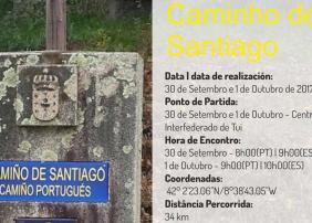 Andainas polo Camiño de Santiago