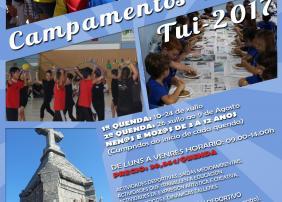 Cartel Campamento de Verán 2017